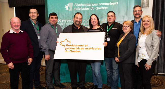 La Fédération des producteurs acéricoles du Québec devient les Producteurs et productrices acéricoles du Québec (Groupe CNW/Fédération des producteurs acéricoles du Québec)