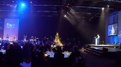 Monsieur Robert Mercure, président-directeur général du Palais des congrès de Montréal, au Gala Reconnaissance 2018 lors duquel 18 Ambassadeurs ont été honorés. (Groupe CNW/Palais des congrès de Montréal)