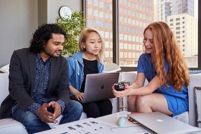 Les employés de Gap Inc. travaillent sur des solutions technologiques.