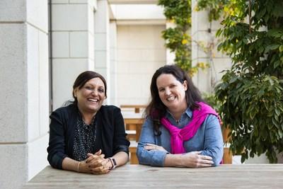 Sally Gilligan, executiva-chefe de informação da Gap Inc. e Rathi Murthi, executiva-chefe de tecnologia da Gap Inc.