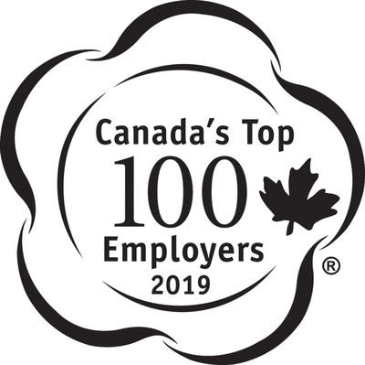 Mattamy Homes is proud to announce that the company has been named as one of Canada's Top 100 Employers, in recognition of its forward-thinking workplace policies and exceptional human resources programs. (CNW Group/Mattamy Homes Limited)