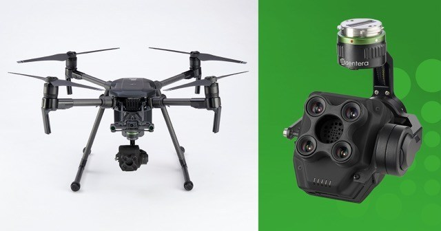 Sentera Integrates AGX840 Gimbaled Quad Sensor with DJI Matrice 200 Series Drones