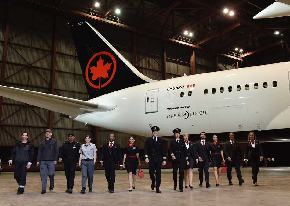 Canadian Talent Choosing Air Canada: Airline Named One of Canada's Top 100 Employers for the Sixth Consecutive Year (CNW Group/Air Canada)