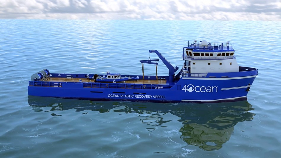 4ocean Unveils One-Of-A-Kind 135-Foot Ocean Plastic Recovery