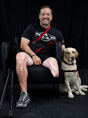 Retired Army Sgt. 1st Class Randy Nantz will train with the Adaptive Training Foundation with the support of Lockheed Martin's Fighting Spirit Scholarship.