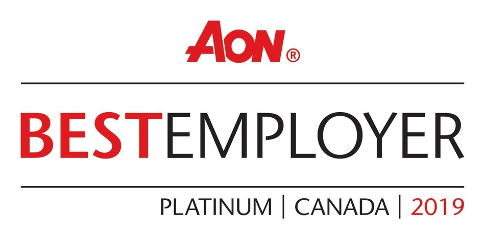 AON Best Employer | Platinum | Canada | 2019 (CNW Group/Alterna Savings and Credit Union)