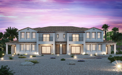 Fiori Townhomes, located at the guard-gated golf community of Tuscany Village, feature single and two-story townhomes up to four bedrooms with courtyards, patios, attached two-car garages and golf course views.