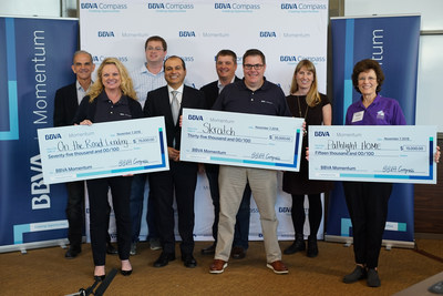 Second annual BBVA Momentum in U.S. wraps up with Dallas-based On the Road Lending taking home $75,000 prize.
