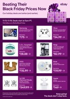 eBay Beats (or Matches) Competitors' Black Friday Deals This Week With 'Better than Black Friday'