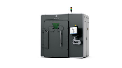 3D Systems DMP Flex 350 robust metal 3D printer for 24/7 part production and flexible application use.
