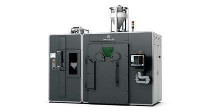3D Systems DMP Factory 350 high throughput, high repeatability metal 3D printer with integrated powder management for scalable metal part production.