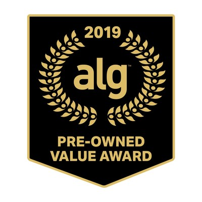 2019 ALG Pre-Owned Value Award