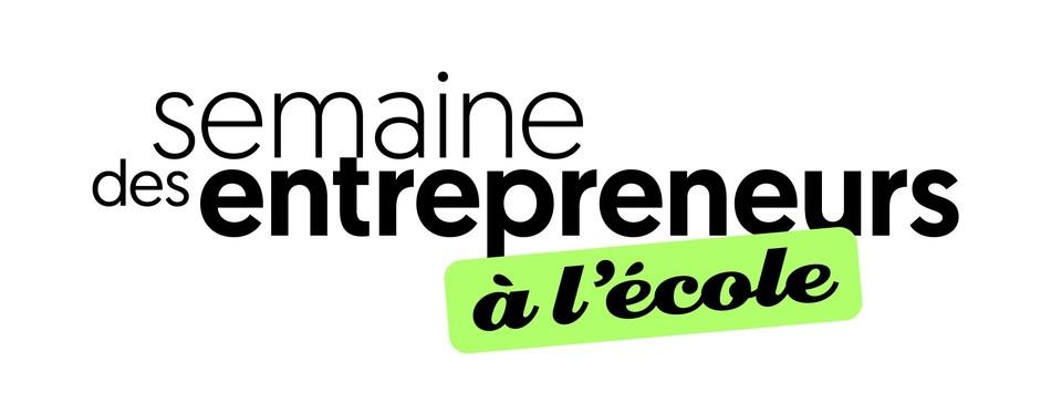 Logo : Semaine des entrepreneurs à l'école (CNW Group/Défi OSEntreprendre)
