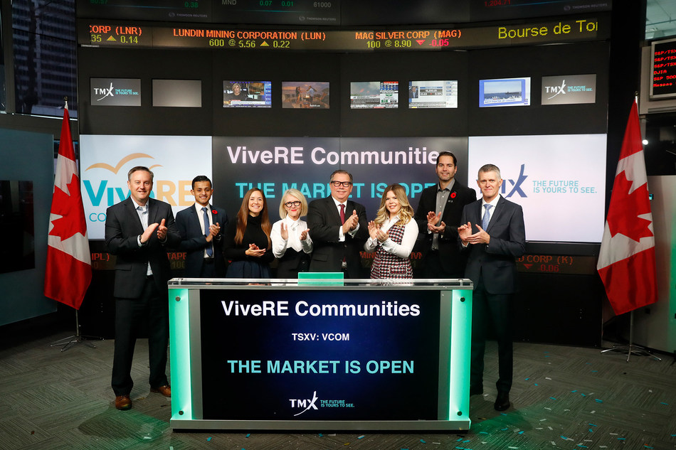 ViveRE Communities Inc. Opens the Market (CNW Group/TMX Group Limited)