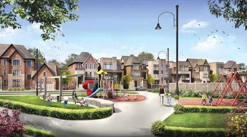 Glen Agar community park rendering (CNW Group/The Minto Group)