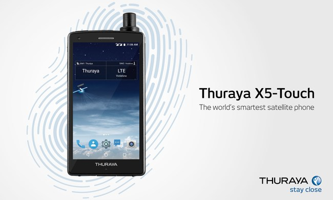 Thuraya X5-Touch, The World's Smartest Satellite Phone