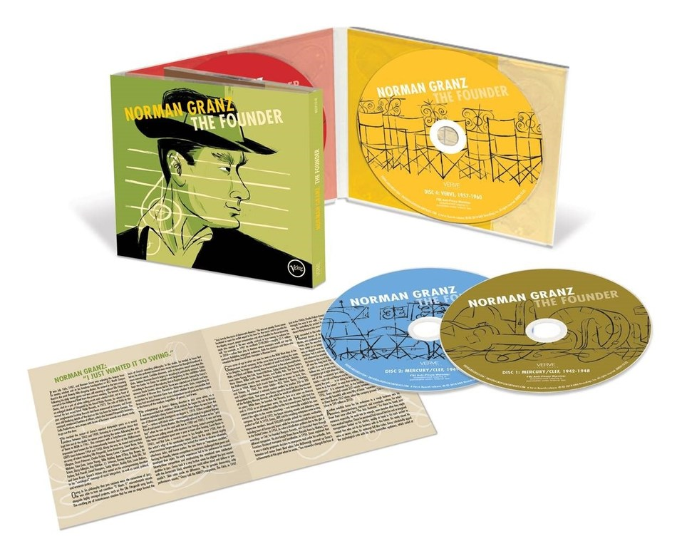 In honor of Norman Granz's centennial, Verve/UMe has assembled 'The Founder,' a four CD/digital box set celebrating the jazz impresario's remarkable life and career.