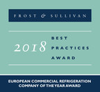 2018 European Commercial Refrigeration Company of the Year Award (PRNewsfoto/Frost & Sullivan)