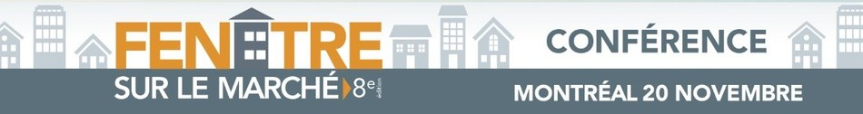 Window on the Market Conference: Québec Residential Real Estate Market - 2018 Activity Report & 2019 Projections (in French) (CNW Group/Québec Federation of Real Estate Boards)