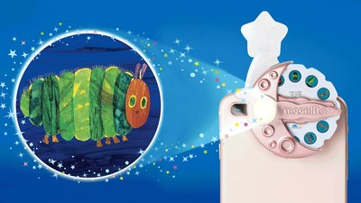 Limited Edition Rose Gold Moonlite Story Book Projector in Support of Baby2Baby (CNW Group/Spin Master)
