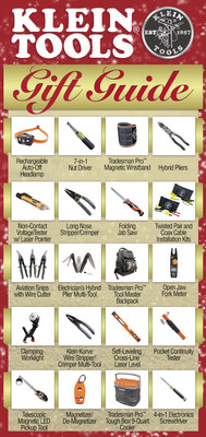 Klein Tools' 2018 Gift Guide