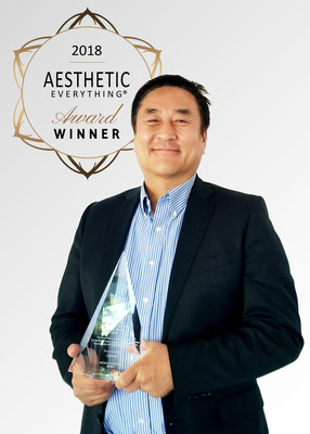 """Haelyung Hwang, CEO and Chairman, Lutronic Corporation was voted overall """"Top CEO"""" by over 30,000 votes that were cast by the aesthetic industry. Under Mr. Hwang's leadership, Lutronic earned 7 additional awards this year – including Top Aesthetic Company, Top Aesthetic Laser Manufacturer, Top New FDA-Cleared Innovation, and Top Skin Care Devices.  He continues to push Lutronic towards the future through innovative thinking and sound business decisions."""