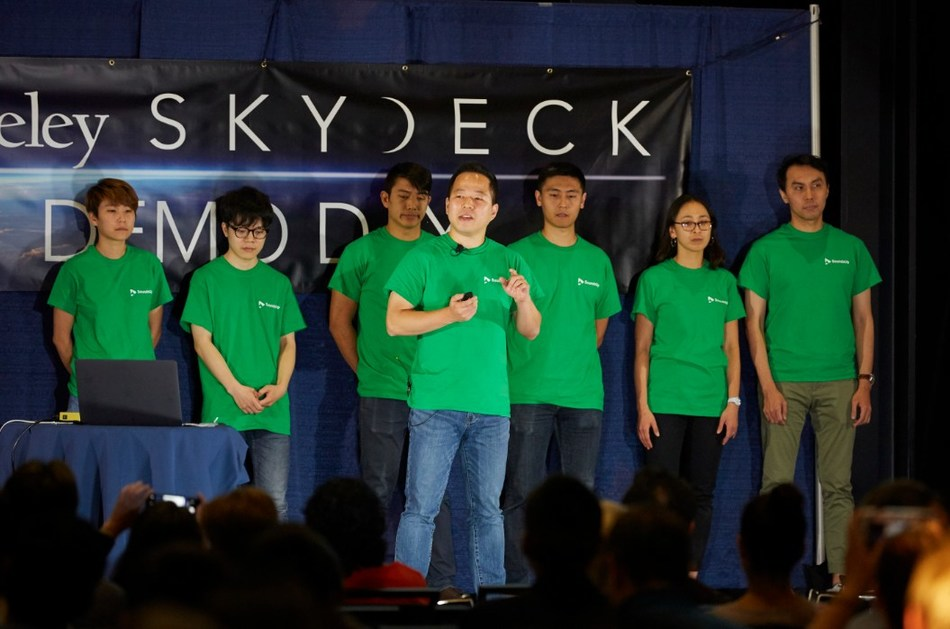 "COOLJAMM Inc., which developed the humming-based song composition application ""HumOn"", was the first and only Korean company to participate in SkyDeck Demo Day."