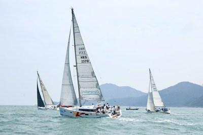 The Generations sets sail at China Cup International Regatta 2018