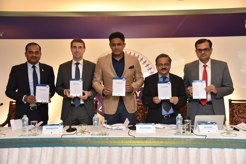 Novo Nordisk Education Foundation launches Impact India, a 1000 day challenge to address uncontrolled Diabetes in India (PRNewsfoto/Novo Nordisk EducationFoundation)
