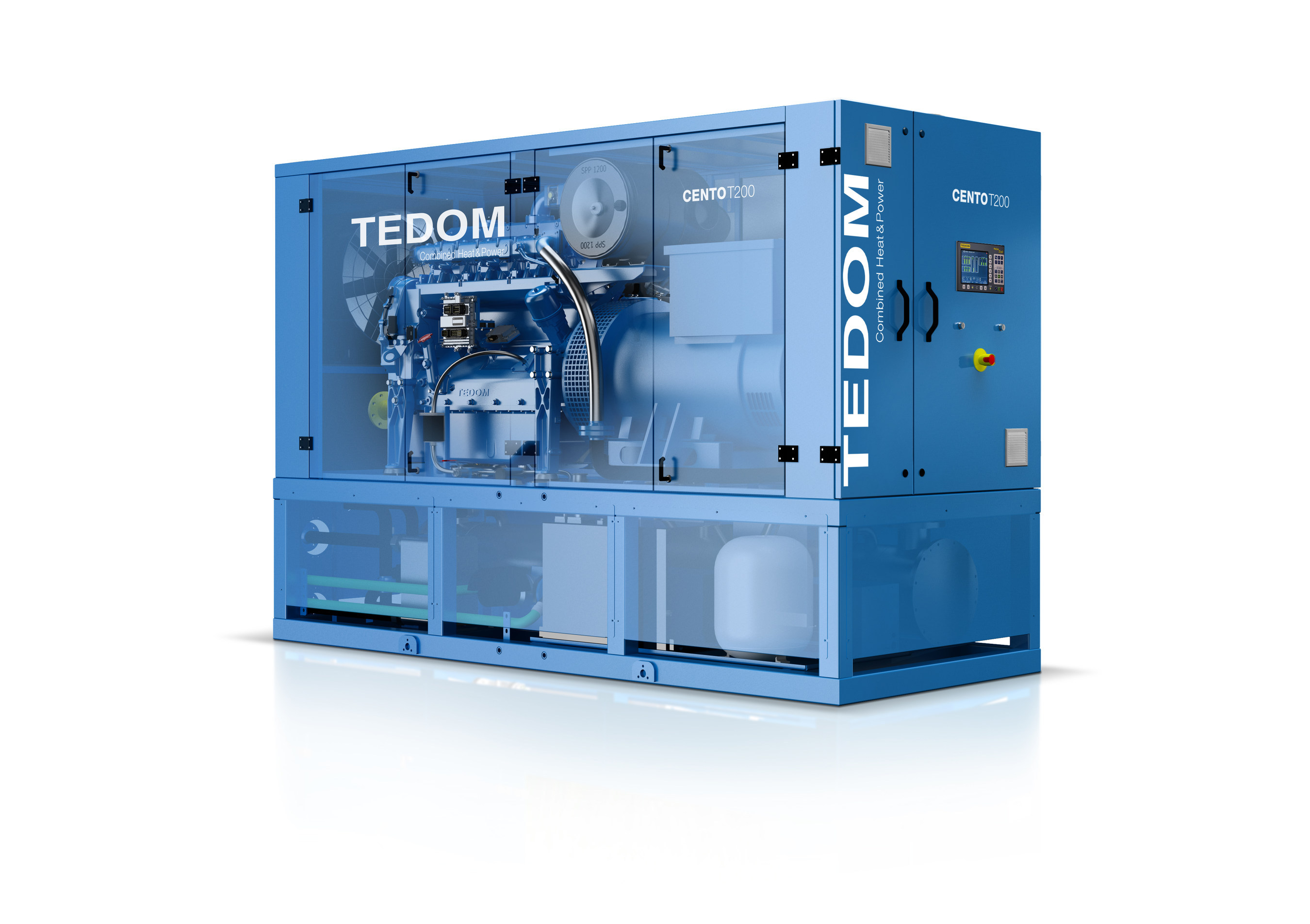 TEDOM CHP System for Growers