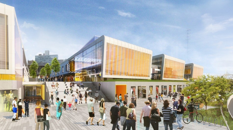 Empire Outlets will open in Spring 2019 as New York City's first and only outlet center.