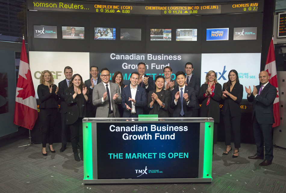 Canadian Business Growth Fund Opens the Market (CNW Group/TMX Group Limited)