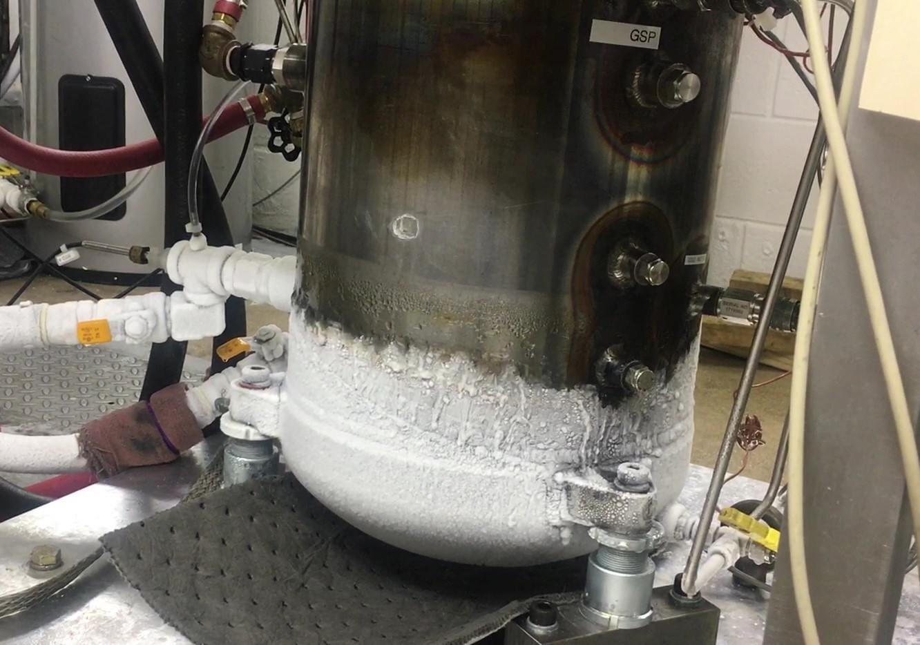 Achieving -150°F during ORNL testing