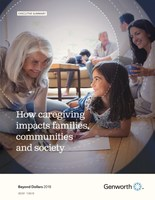 Genworth's Beyond Dollars Study 2018 Reveals Caregivers Are Getting Younger; Stress, Mental Health Issues Continue Unabated