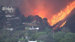 Flames Engulfing California