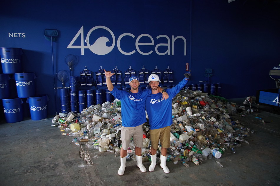 4ocean co-founders Andrew Cooper and Alex Schulze have been named to the Forbes 30 Under 30 in the category of Social Entrepreneurs. 4ocean has pulled over two million pounds of trash from the ocean and coastlines since the two founded the company in January 2017.  4ocean global cleanups are funded entirely through the sale of sustainability products with every item purchased supporting the removal of one pound of trash from the ocean. The company is building the first economy for ocean plastic and creating a cleaner, more sustainable future for the ocean.