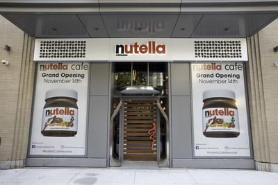 Ferrero, a global confectionery company and the maker of Nutella®, The Original Hazelnut Spread®, celebrated the grand opening of the Nutella Cafe New York on Wednesday, November 13, 2018 in Union Square.
