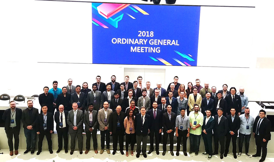 Member National Federations of International eSports Federation at the General Meeting where USeF was voted in as a Full Member