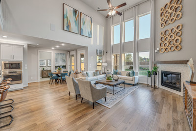 Taylor Morrison's Sapphire Model in the master-planned community of Cane island in popular Katy, TX.