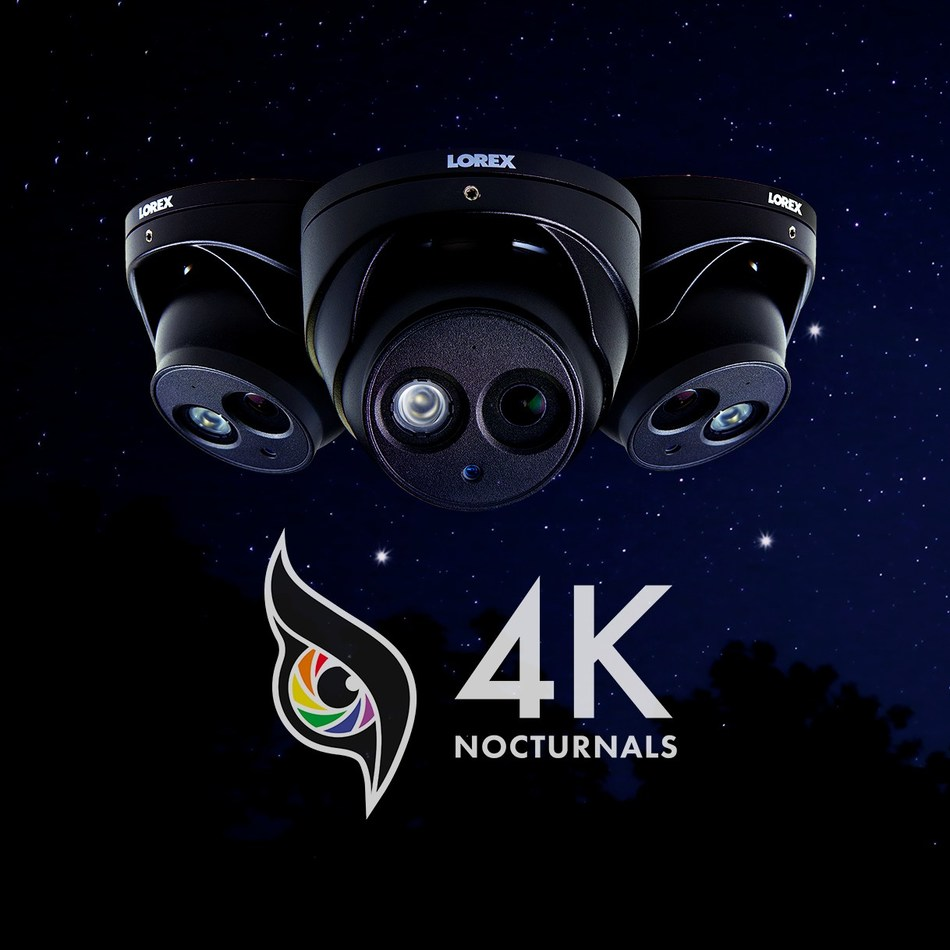 4K Nocturnal Security Cameras (CNW Group/LOREX Technology Inc.)