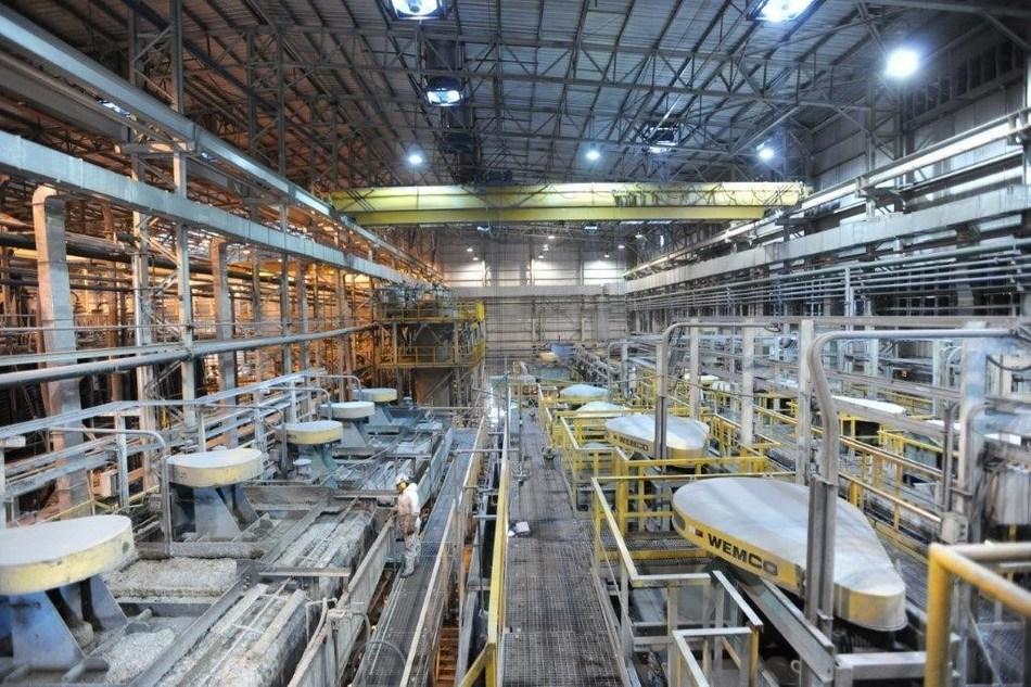 Figure 1 - Puna - Floatation Plant. (CNW Group/Golden Arrow Resources Corporation)