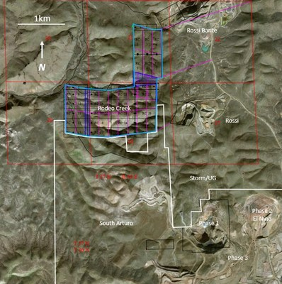 Figure 1 – Rodeo Creek Property (CNW Group/Premier Gold Mines Limited)