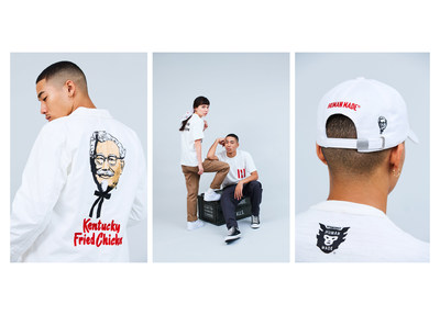 Fans will be able to purchase Human Made x KFC Capsule Collection items at a pop-up shopping experience on Friday, Nov. 16, at a KFC restaurant in Manhattan.