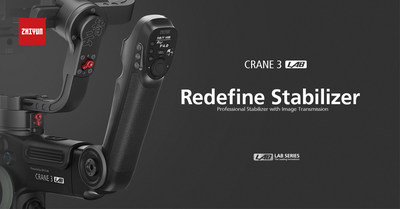 Zhiyun Announces 2018's Best DSLR Camera Stabilizer, CRANE 3 LAB