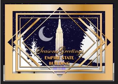 """帝国大厦年度庆祝活动""""ESB Unwrapped""""为纽约创造节日喜庆气氛"""