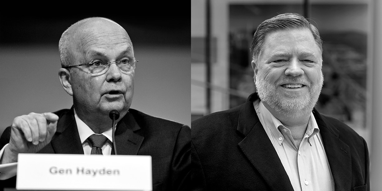 General Michael Hayden - Speaker; Bob Ackerman, Chairman of Global Cyber Innovation Summit; May 1-2, 2019