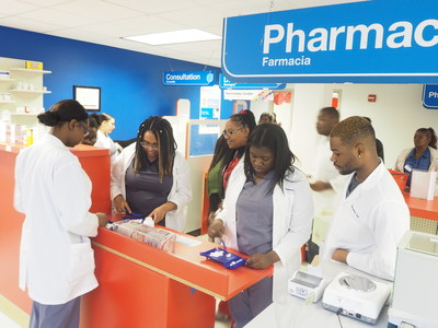 Students receive hands-on experience at new mock pharmacy in Philadelphia, which opened this week in partnership with CVS Health, Philadelphia Job Corps, Philadelphia Works and Philadelphia Youth Network.