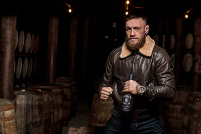 Conor McGregor and Proper No. Twelve Irish Whiskey