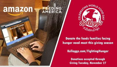 Click, ship and donate to a Feeding America food bank this giving season