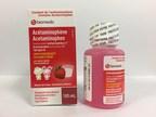 Solution orale d'acétaminophène (160 mg/5 ml) à saveur de fraise pour les enfants, de marque Biomedic (lot B0504-A) (Groupe CNW/Santé Canada)